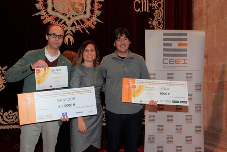 Premio al mejor proyecto emrpresarial con base tecnológico