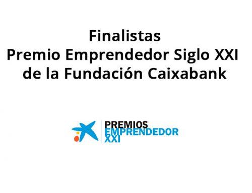 Finalistas del Premio Emprendedor Siglo XXI de la Fundación Caixabank