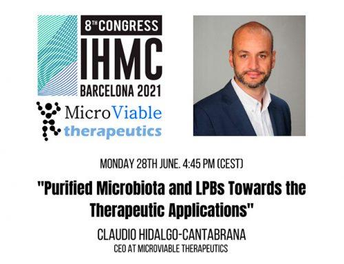 Ponencia en el 8th International Human Microbiome Consortium Congress 2021